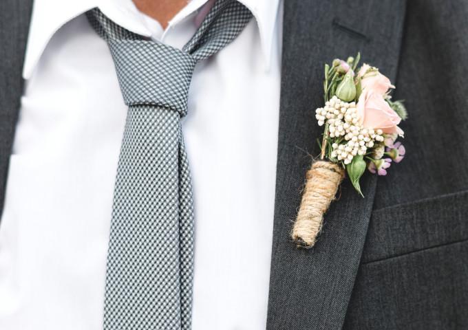 Ansteckblumen Hochzeit